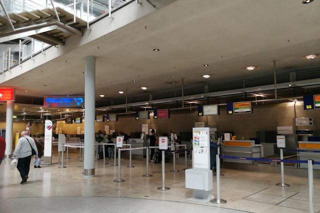 Flughafen Nürnberg - Check-in