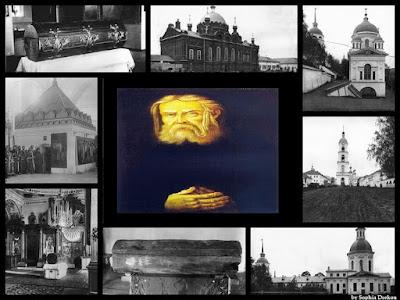 Φωτογραφίες από την αγιοκατάταξη  του Οσίου Σεραφείμ του Σαρώφ το 1903