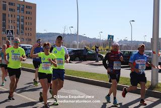 despues de la Media Maraton de Leon 2019
