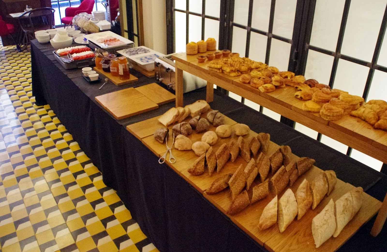 Brown's Central Hotel Lisbon Breakfast Buffet