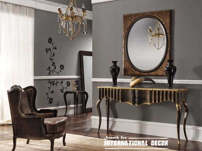 Luxury console table for modern interior