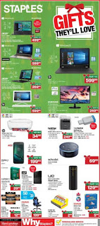 staples weekly flyer December 13 - 19, 2017