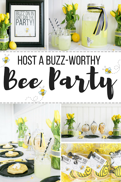 A bee themed brunch party. Great party or shower idea for spring!