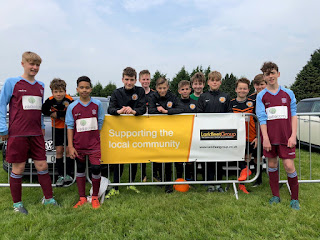 Larkfleet Homes Community Fund sponsored football tournament