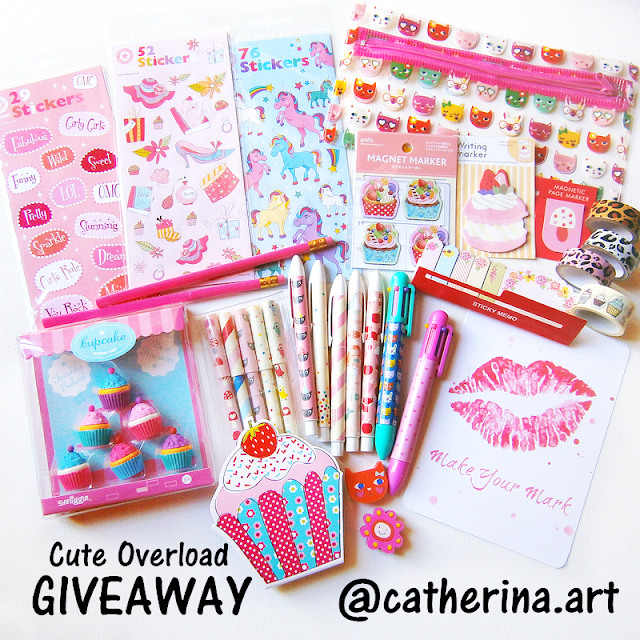 Stationary Planner Instagram Giveaway