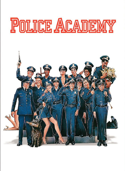 Poster Of Police Academy 1984 720p Hindi BRRip Dual Audio Full Movie Download
