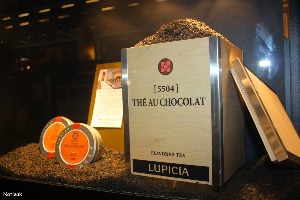 thé au chocolat Lupicia
