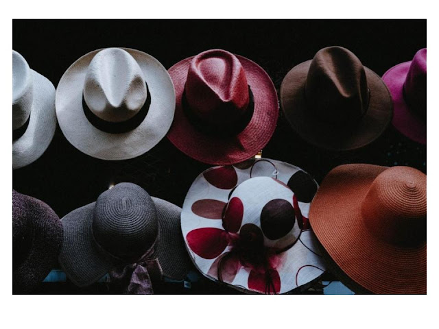 embellish a basic straw hat into a stylish hat