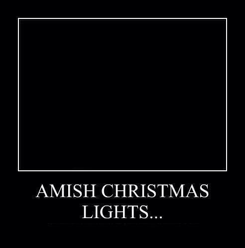 Amish Christmas Lights