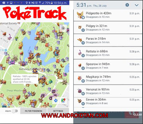Free Download Poke Where Apk Pro Live Radar GO v2.1.0 Android Terbaru 2017