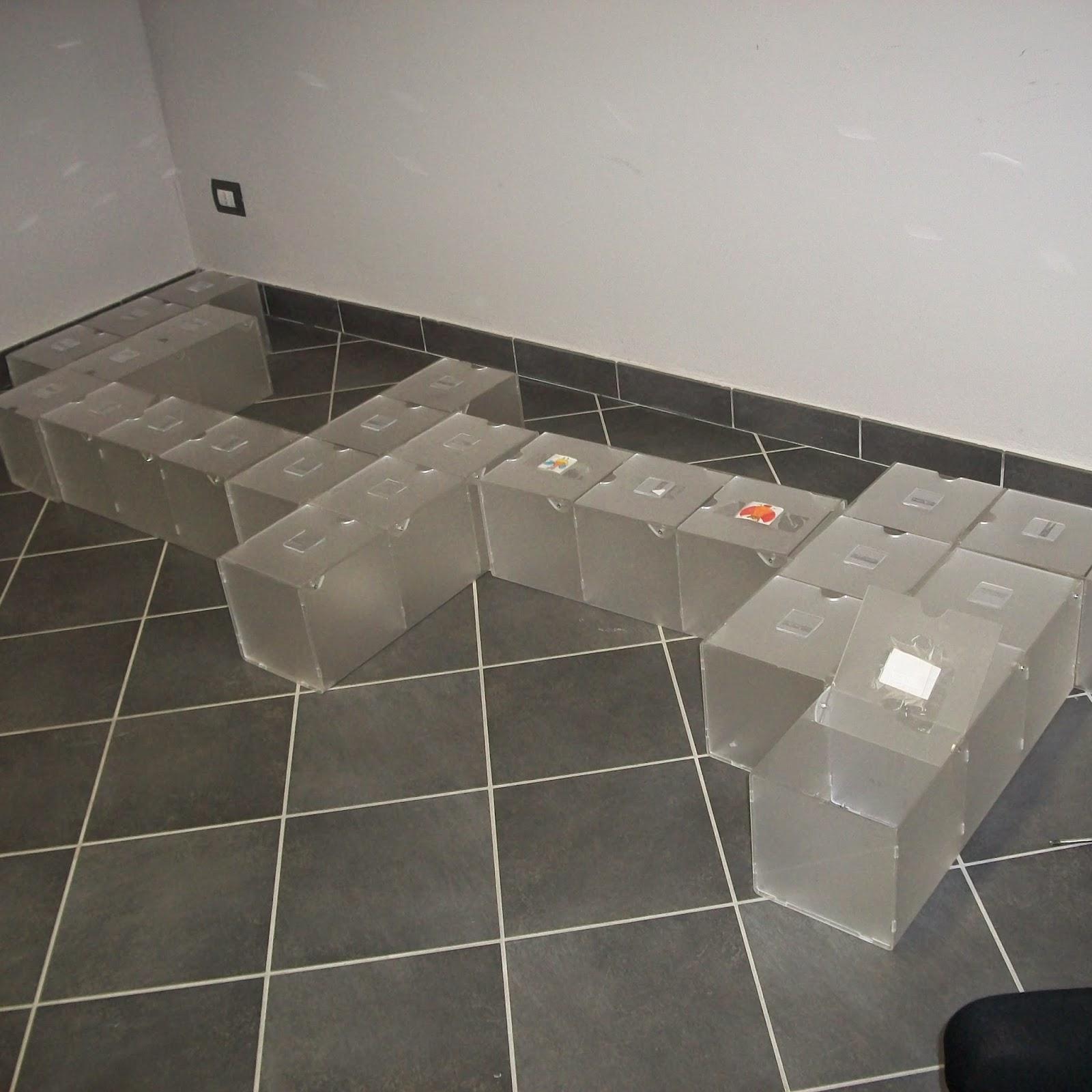 Organizzare lo spazio e arredare con materiali riciclati - Foto 2