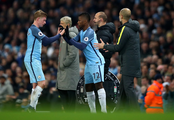 Yaya Toure Lauds Iheanacho's Brilliant Performance Against Arsenal