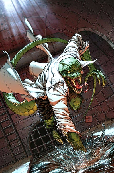 Lagarto Spiderman