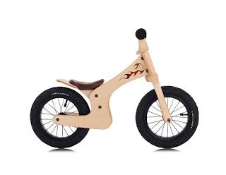 bicicleta de madera muy innovador
