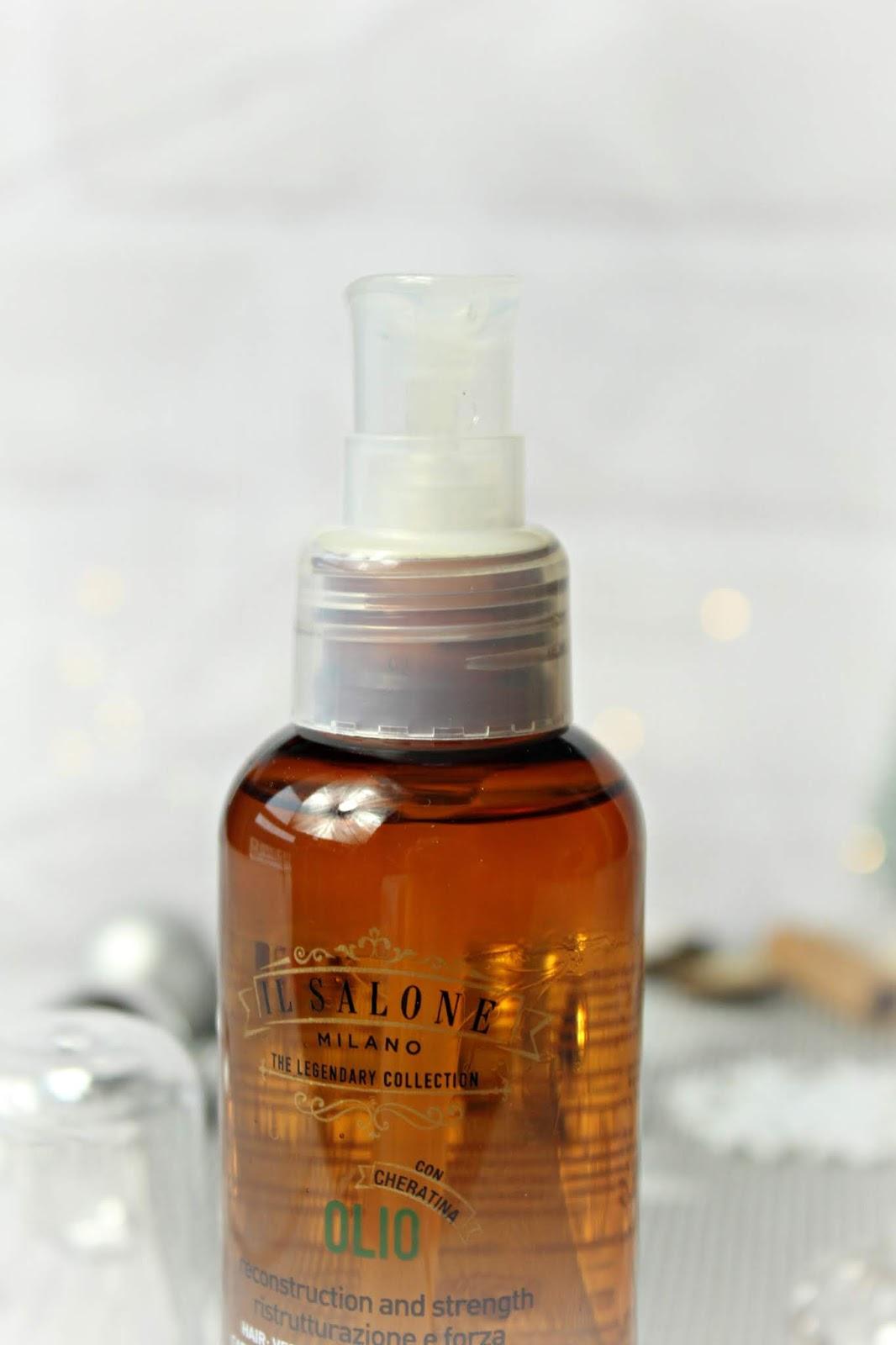 Il Salone Milano – Regenerujący olejek do włosów Con Cheratina