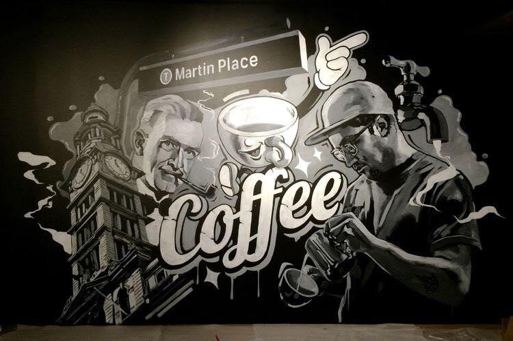 Kết quả hình ảnh cho ve tranh tuong quan cafe
