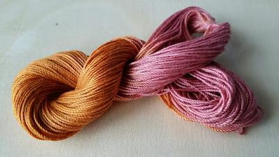 Teindre à froid un fil de couleur : est-ce que cela fonctionne ?