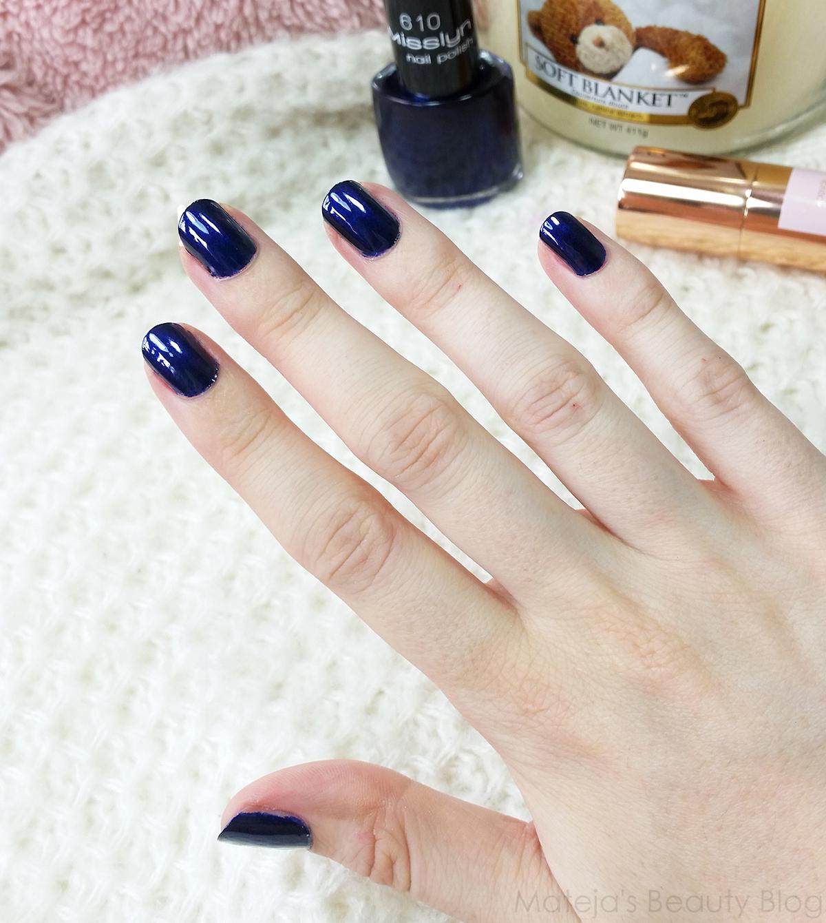 Misslyn Nail Polish 610 Night Club - Mateja\'s Beauty Blog