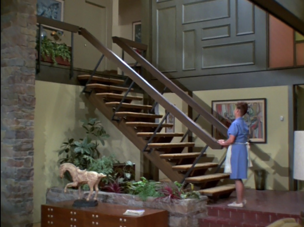 The Brady Bunch Blog Alice At The Stairs