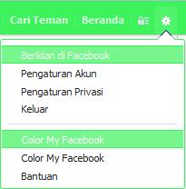 Cara Mengubah Warna Tampilan di Facebook2