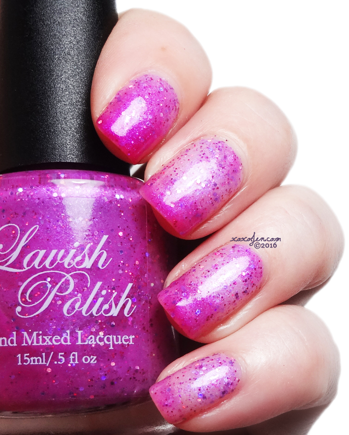 xoxoJen's swatch of Lavish Polish Cake in Your Face