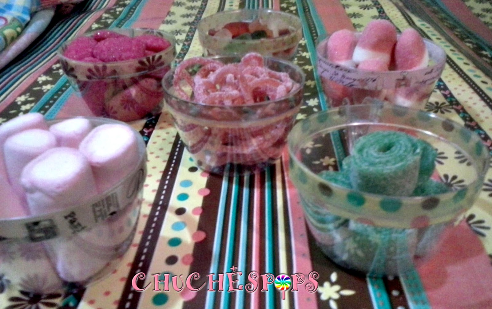 TTazas decoradas washitape con chuches