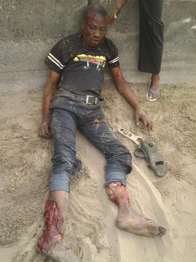 Omg Photos From A Horrific Accident On Badagry Expressway