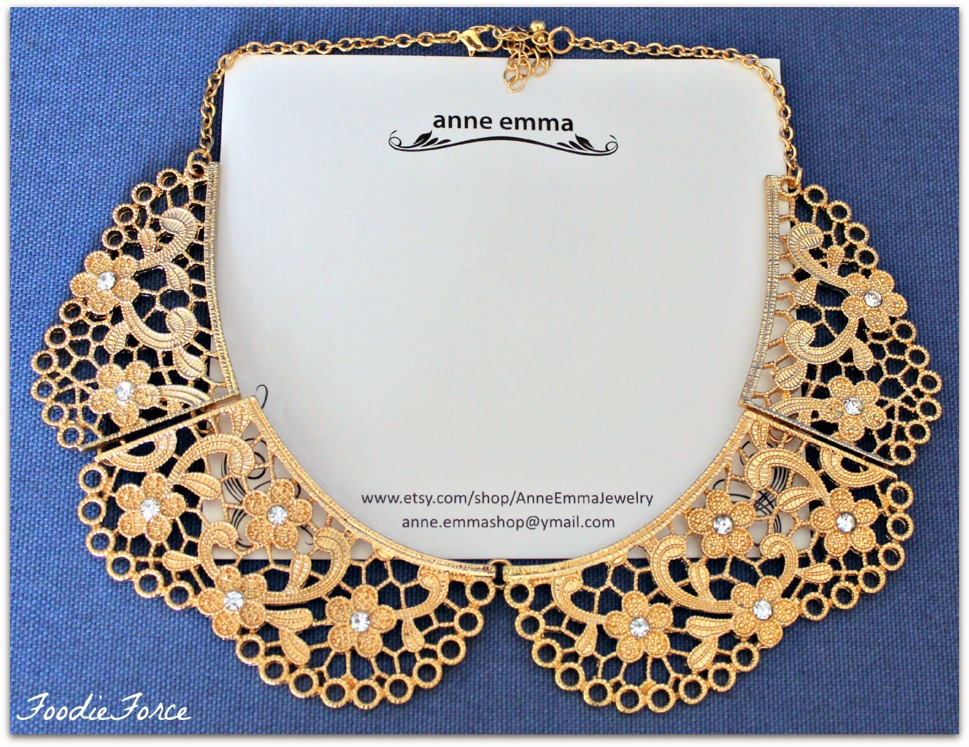Lace Ruffle Collar Necklace