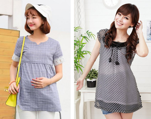 model baju ibu hamil modern