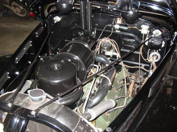 Lasalle Touring Sedan Engine