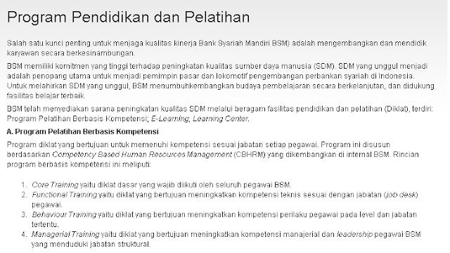 5 Lowongan Kerja BANK SYARIAH MANDIRI Terbaru 2019