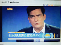 still drinking, Charlie Sheen, active alcoholic, HIV