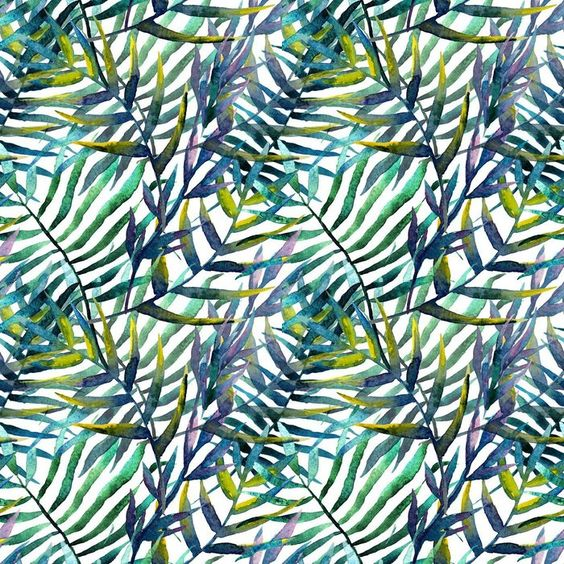 Pixerstick abstract leaves pattern