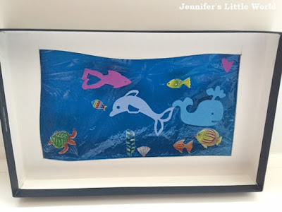 Under the sea viewer craft for children