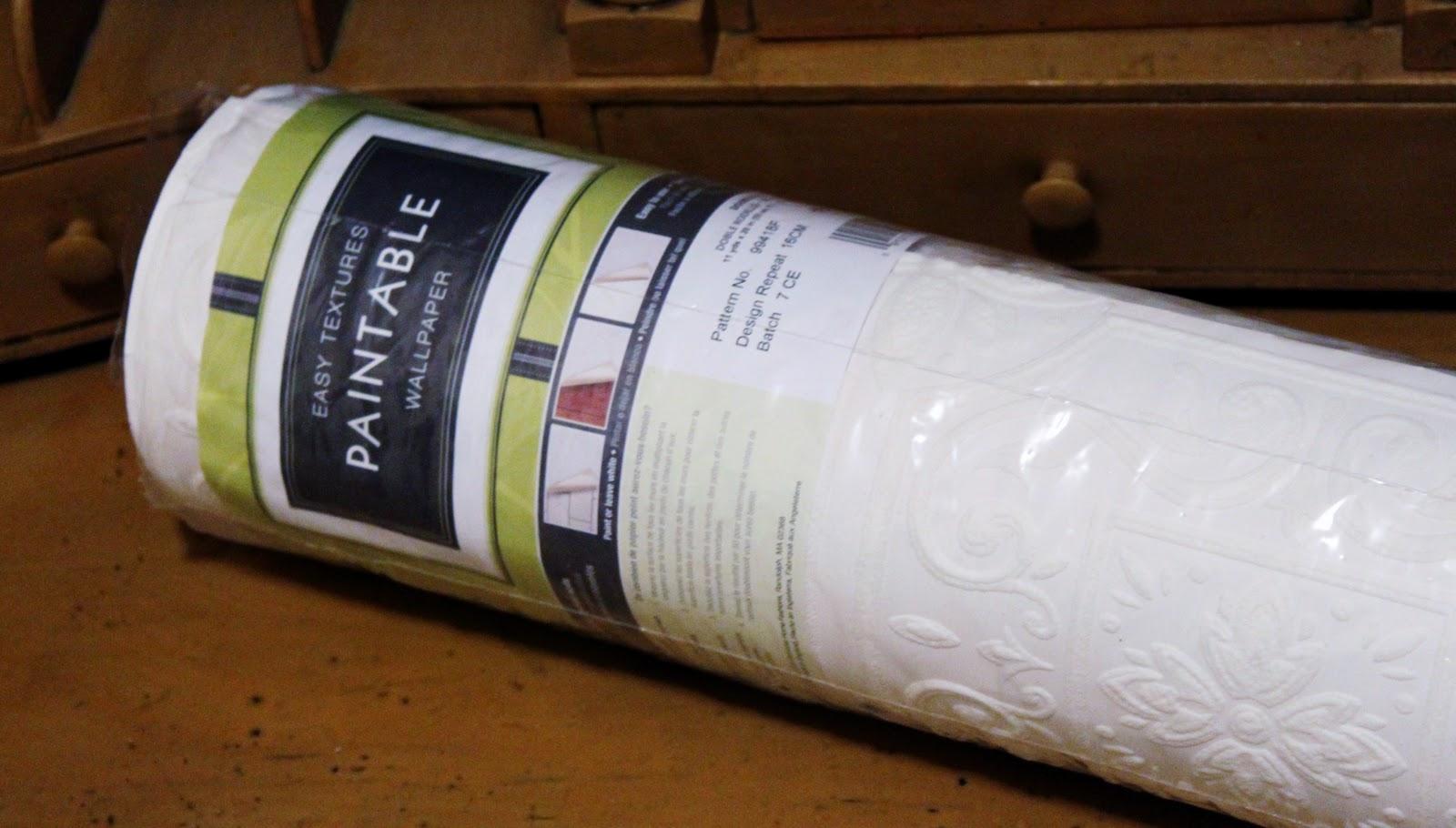 Paint embossed wallpaper - Paintable wallpaper menards ...