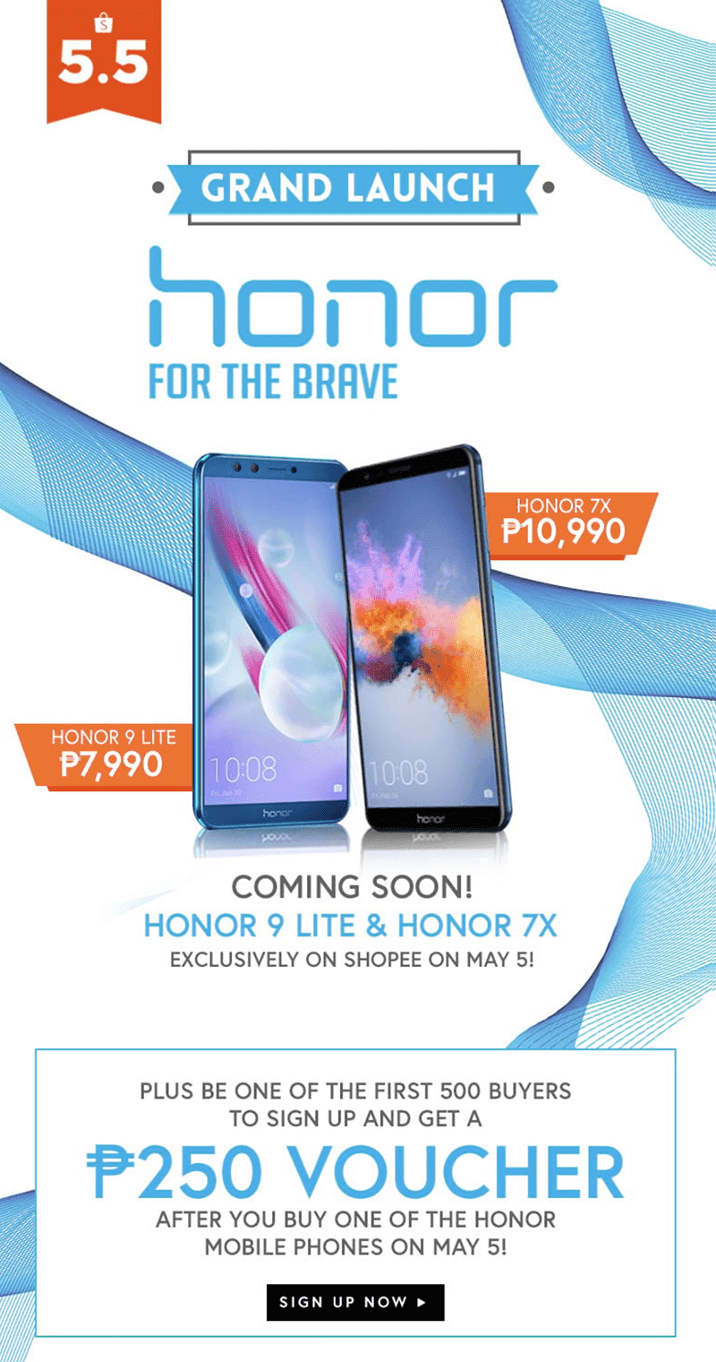 Shopee x Honor promo