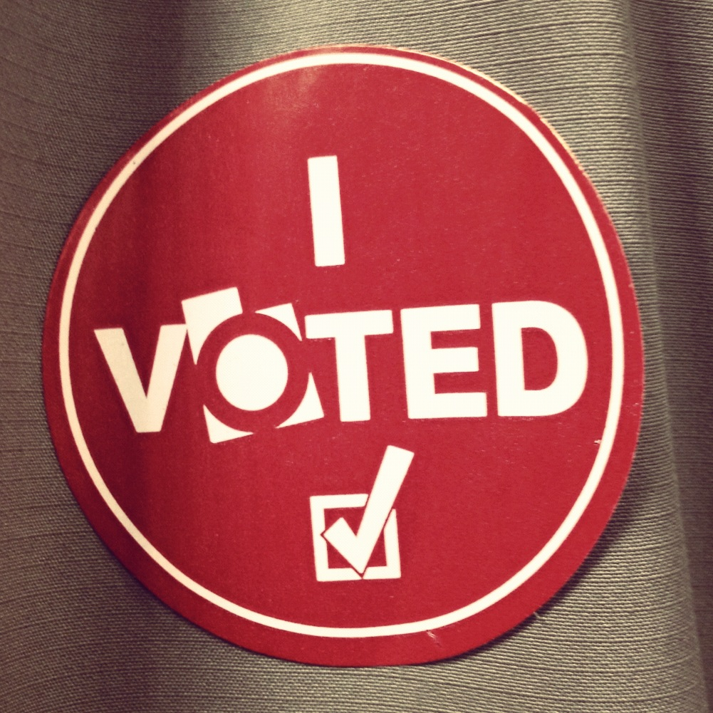 simple reasons why voting is important  ask your dad blog i voted sticker