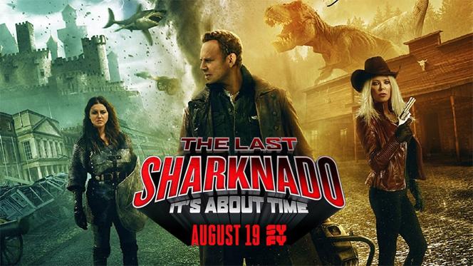 El último Sharknado: Ya era hora (2018) BRRip 1080p Latino-Ingles