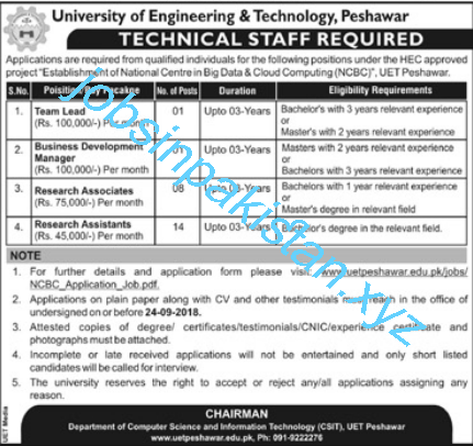 https://www.jobsinpakistan.xyz/2018/09/uet-peshawar-jobs-2018.html