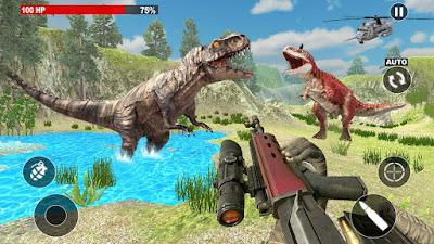 لعبة Dinosaur Hunter 2018 للاندرويد, لعبة Dinosaur Hunter 2018 مهكرة, لعبة Dinosaur Hunter 2018 للاندرويد مهكرة