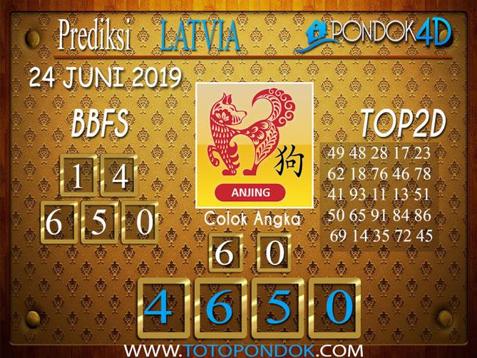 Prediksi Togel LATVIA PONDOK4D 24 JUNI 2019