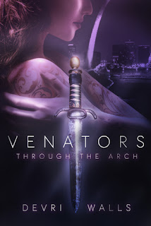 New adult urban fantasy novel, Venators by Devri Wall.