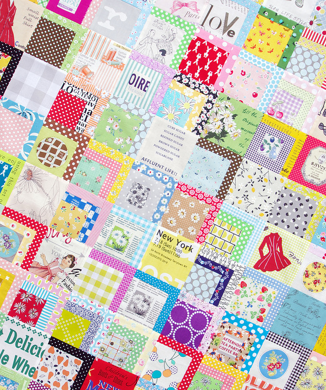 Color Splash Quilt - Work in Progress | Red Pepper Quilts 2016