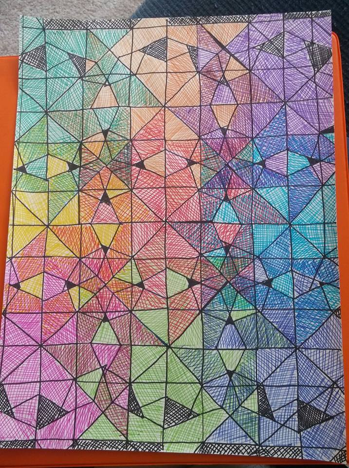 math hombre  more tessellations