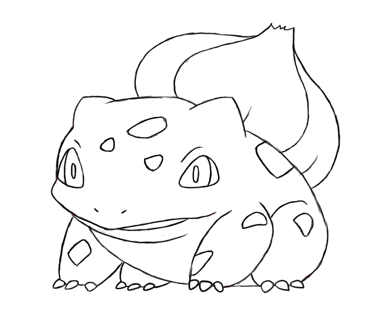 How To Draw Bulbasaur - Draw Central