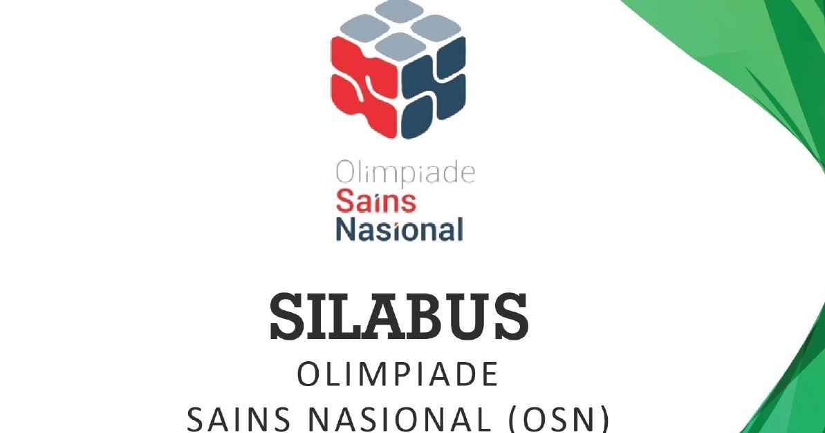 Silabus Osn Sma 2018