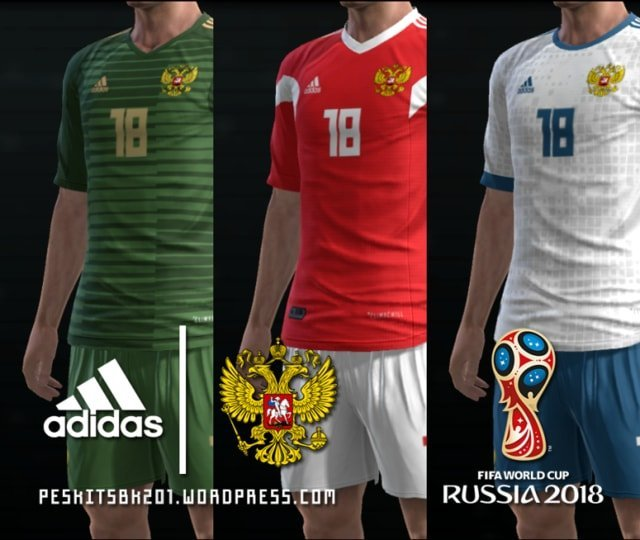 best service b2469 5169c Russia 2018 World Cup Kits - PES 2013 - PATCH PES | New ...