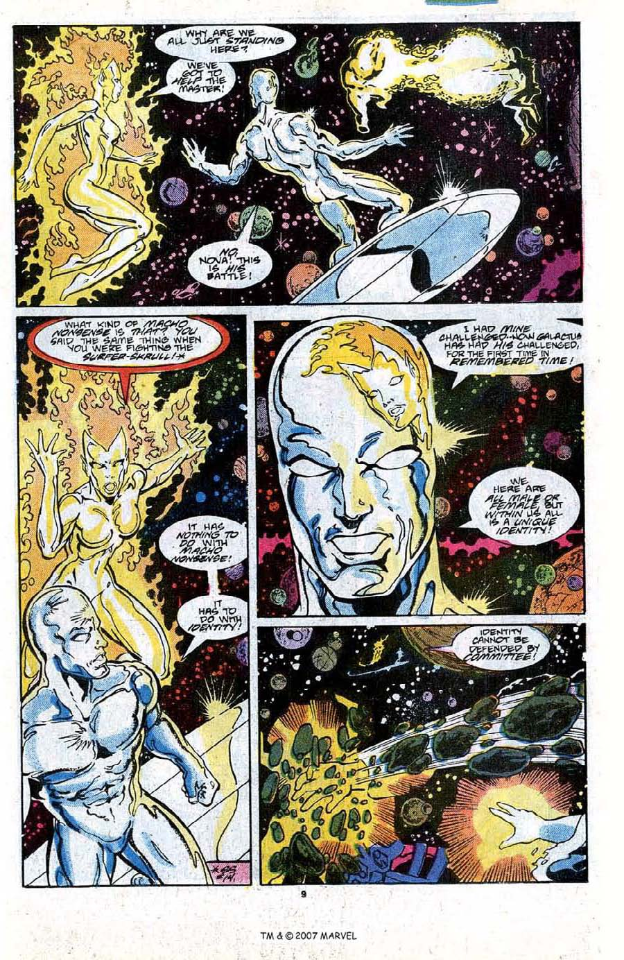 Read online Silver Surfer (1987) comic -  Issue #18 - 11