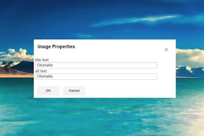 Cara Membuat Title Dan Alt Tag Yang Otomatis Pada Gambar Postingan Di Blogspot