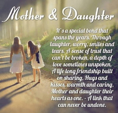 Love Quotes For Mother From Daughter: it's a special bond that spans the years.